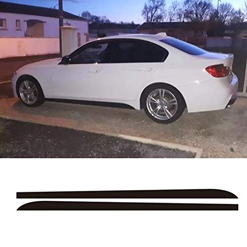 Kavas - 2Pcs 2.05M Skirt Sill Decal Side Stripe M Performance for sale  Delivered anywhere in USA