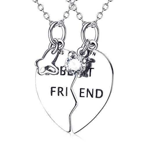 YFN Sterling Friendship Engraved Necklace