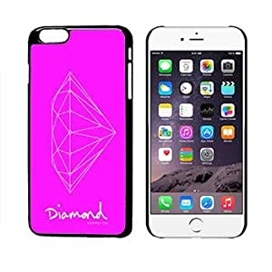Diamond Supply 15 Hot Pink With White Diamond iphone 6 + Plus Case by mcsharks