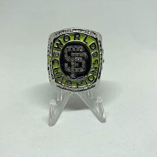 2010 Buster Posey San Francisco Giants High Quality Replica 2010 World Series Championship Ring Size 12-Silver Color US SHIPPING
