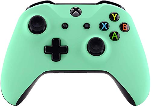 Xbox One Wireless Controller for Microsoft Xbox One - Custom Soft Touch Feel - Custom Xbox One Controller (Green Mint)