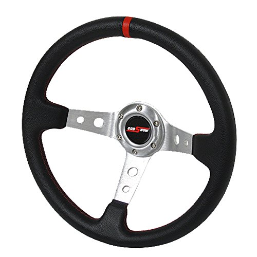 Rxmotor Drifting Deep Dish 350mm 6 Hole Sports Steering Whee
