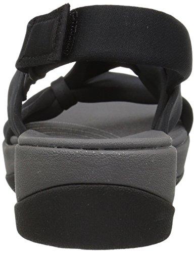 Women's Primrose Clarks Medium Us 5 Sandal Fabric 6 Black Arla dpnw1xnPU