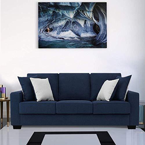 Furny Apollo Fabric 3 Seater Sofa Set  Blue