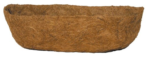 Bosmere 36'' Pre-Formed Replacement Coco Liner with Soil Moist for Window Basket by Bosmere