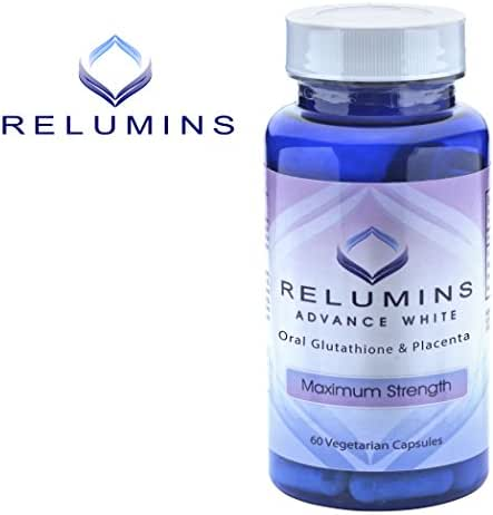 10 Bottles of Relumins Advanced White Oral Glutathione Whitening Formula Capsules-max Strength