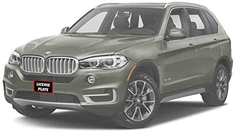 2017 2018 BMW X5 non M Sport Removable Front License Plate Bracket STO N SHO