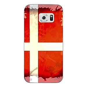 """Disagu Design Protective Case para Samsung Galaxy S6 Funda Cover """"Dänemark"""""""