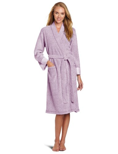 Women's Terry Robe, Royal Purple