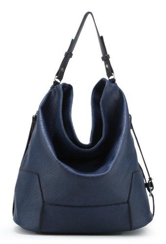 Scarleton Classic Hobo Bag H145907 - Blue