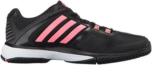 Adidas Performance Women's Barricade Club Training Shoe Black/Flash Red/White buy cheap prices cheap limited edition kGdMpwyA
