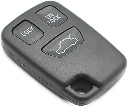 amazon com 3 buttons keyless entry remote key fob cover key shellamazon com 3 buttons keyless entry remote key fob cover key shell for volvo v40 c70 s70 v70 s40 automotive