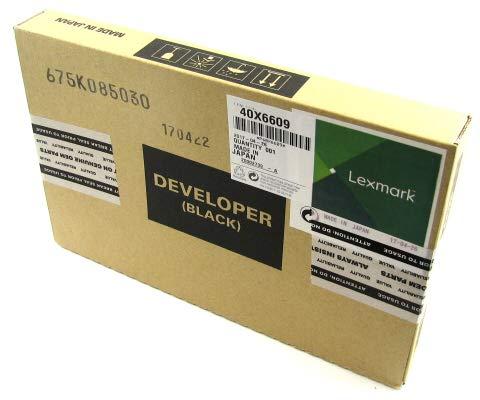 40X6609 QSP Works with Lexmark: Carrier K Developer Black
