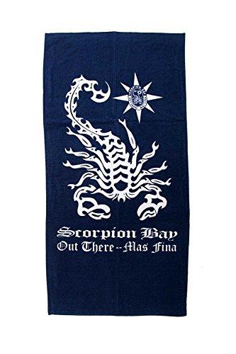 Scorpion Bay Strandtuch Skorpion Blatt Zubehör Meer ABT 3101-13