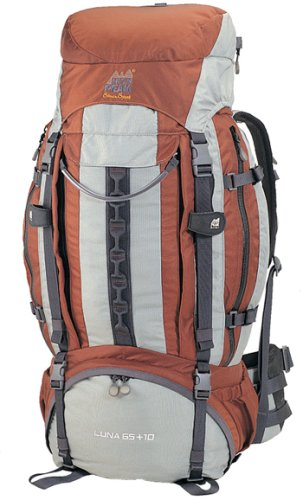 High Peak Luna 65 + 10 4500-5300ci Internal Frame Women's Backpack, Outdoor Stuffs