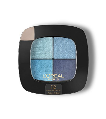 L'Oréal Paris Colour Riche Eye Pocket Palette Eye Shadow, Avant Garde Azure, 0.1 oz.