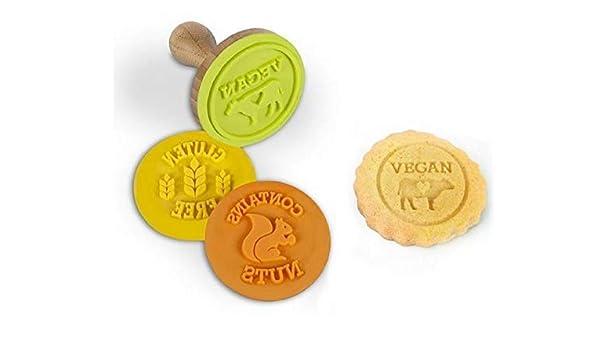 Core cuidado libre alergia a alimentos Cookie sellos, Vegan ...