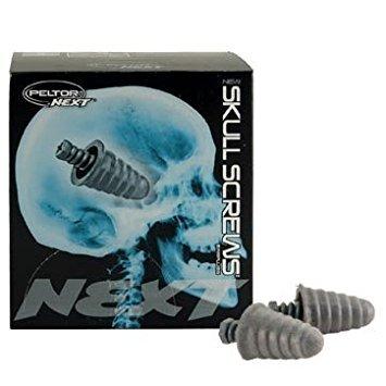 Peltor NEXT Skull Screws Foam Ear Plugs Uncorded (Plugs Ear Screw)