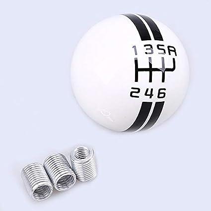 Resin Craft Universal 6-Speed Ball Manual Auto Car Shifter Lever Shift Gear Knob