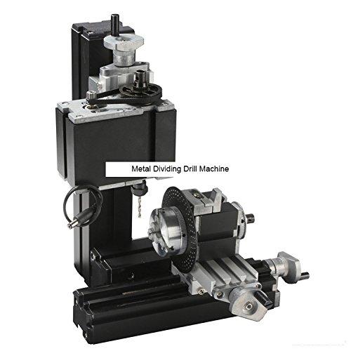 TZ10002M 60W Metal Dividing Drill Machine/ 60W,12000rpm Big Power Metal Drilling Machine with Dividing Plate by MUCHENTEC