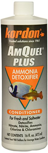 KORDON Amquel Plus for Aquarium, 16-Ounce