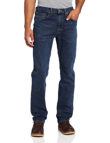 Lee Men's Premium Select Classic Fit Straight Leg Jean, Boss, 36W x 30L (Cotton Denim Fabric)