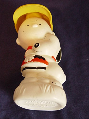 Vintage Peanuts Pals Charlie Brown and Snoopy Collectible Shampoo Bottle - Peanuts Pals