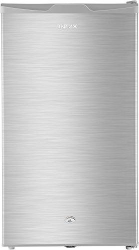 Intex 90 L 1 Star Direct Cool Single Door Refrigerator RR101ST, Silver Hairline