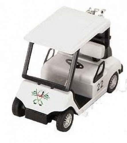 Golf Cart Replica - Measures 4.5 Inches Long. - Pull Back Golf Cart Superior