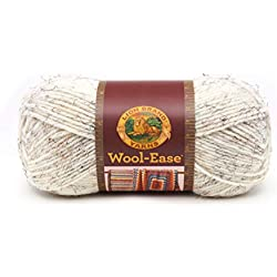 Lion Brand Yarn Lion Brand Wool-Ease Yarn (402) Wheat