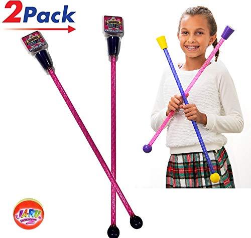 2GoodShop Cheerleader Baton (Pack of 2) Comes in 2 Styles   Item #2801-2 ()