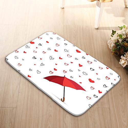 (zexuandiy Lightweight Doormat Memory Sponge Indoor Outdoor Decor Living Room Bedroom Office Kitchen 23.6