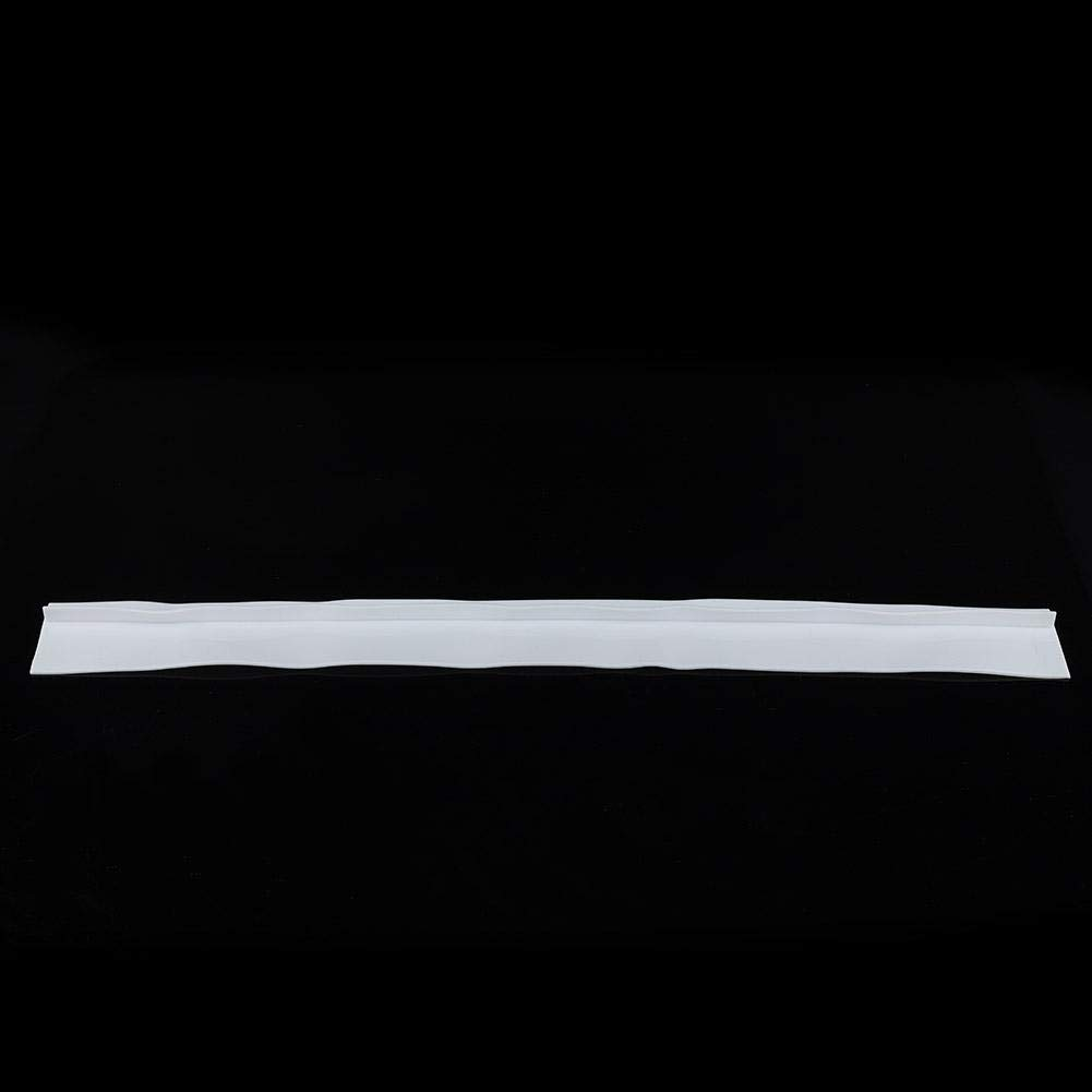 Black 1pc Stove Counter Gap Cover Silicone Gap Strip Oil Resistant Stove Easy Clean Heat Resistant Wide Long Gap Filler Seals Spills Kitchen Counter Cap Filler Sealing Cover
