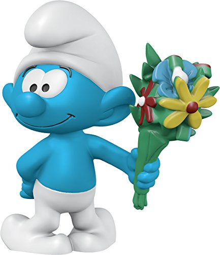 Figurine Smurfs (Schleich North America Smurf with Bouquet Toy Figure)