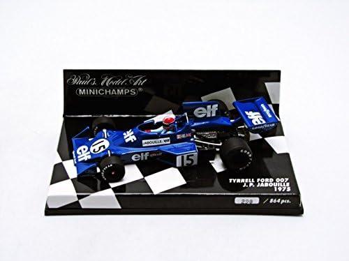 Minichamps 400750015-1:43 1975 Tyrrell Ford 007 No.15 Jean-Pierre Jabouille