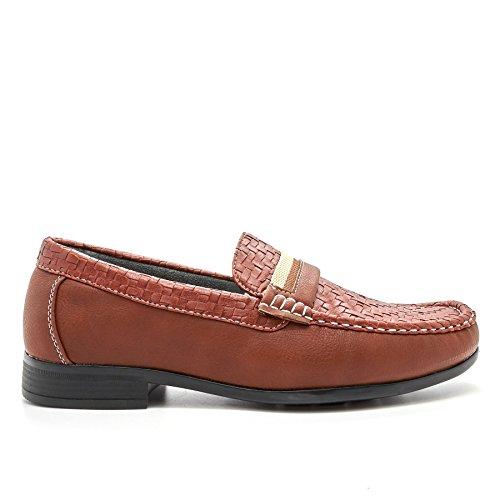 London Footwear - Sandalias con cuña hombre marrón