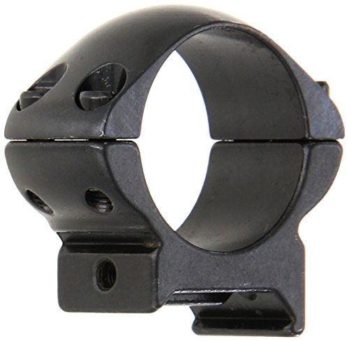 Weaver Grand Slam Steel 1-Inch Medium Top Mount Rings (Gloss Black) (Steel Gloss Ring)