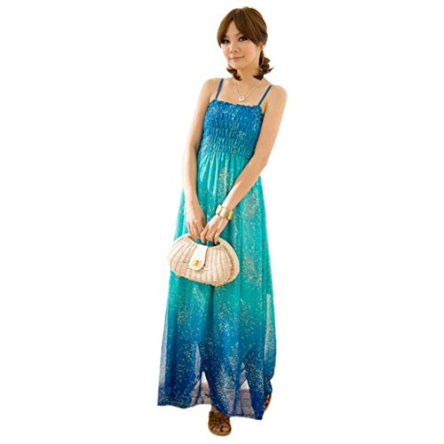 Womens BOHO Exotic Maxi Chiffon Long Dress Ladies Beach