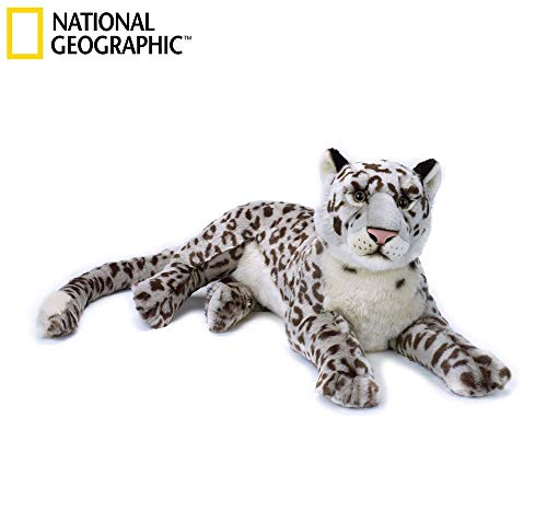 NATIONAL GEOGRAPHIC Basic Plush Kangaroo, White