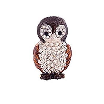 Butler and Wilson Small Owl Lapel Pin Brooch J3hYEEOe