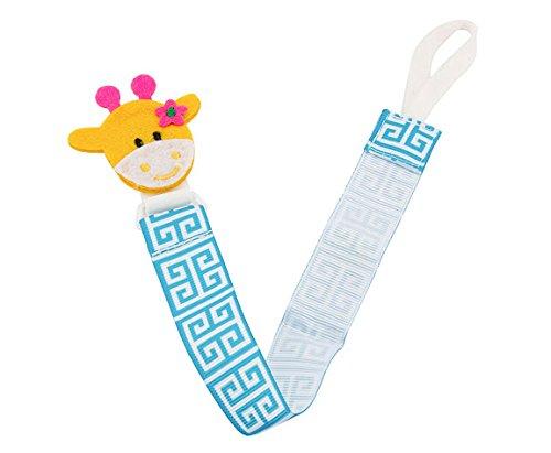 Babies Bloom Giraffe Baby Pacifier Clip  Set of 2