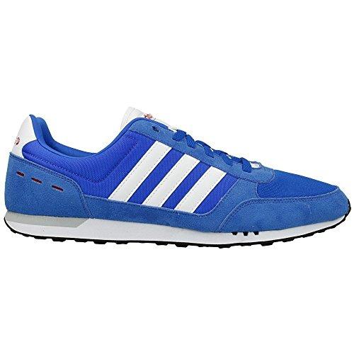 Adidas - City Racer - Couleur: Bleu - Pointure: 44.6