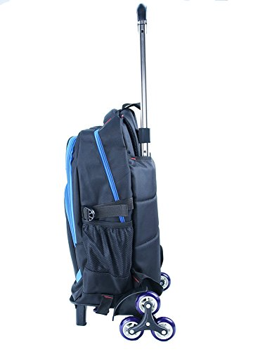 950c0c93ab Meetbelify Trolley School Bags Backpack For Boys With Six Wheels Climbing  Stairs