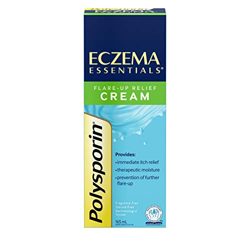 Polysporin Flare CreamDaily Moisturizing Relief Eczema Up Cream 165ml For Essentials 8PXNk0Onw