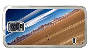 Hipster Samsung Galaxy S5 Case uncommon desert argentina PC Transparent for Samsung S5