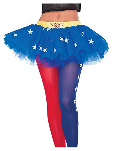 Rubie's Women's DC Comics Wonder Woman Tutu Skirt, Multi, One Size]()