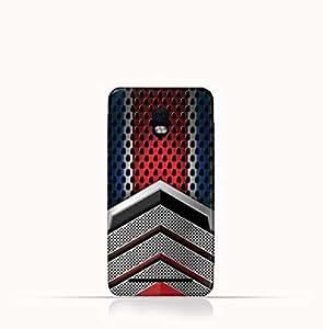 Blackberry Aurora TPU Silicone Case With Geometric Mesh Pattern Design