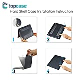 Topcase 13.3-Inch Rubberized Hard Case Cover for