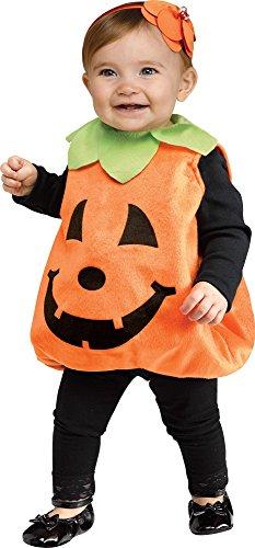 Fun World Jolly Jack O Lantern Costume - One Size ()