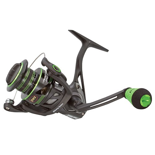 Lews Fishing MH2-400 Mach Ii Metal Speed Spin Spinning Reel, 400, 6.2: 1 Gear Ratio, 33'' Retrieve Rate, 10 Bearings, Ambidextrous